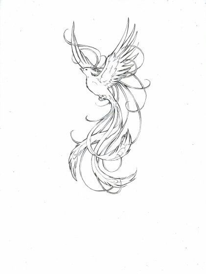 AMAZING PHOENIX TATTOO IDEAS WITH GREATER MEANING