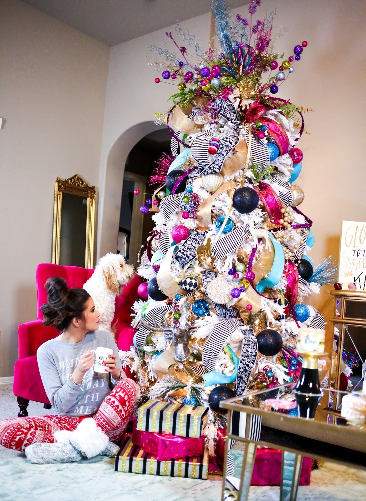 30 Awesome Christmas Tree Decorating Ideas – Eazy Glam