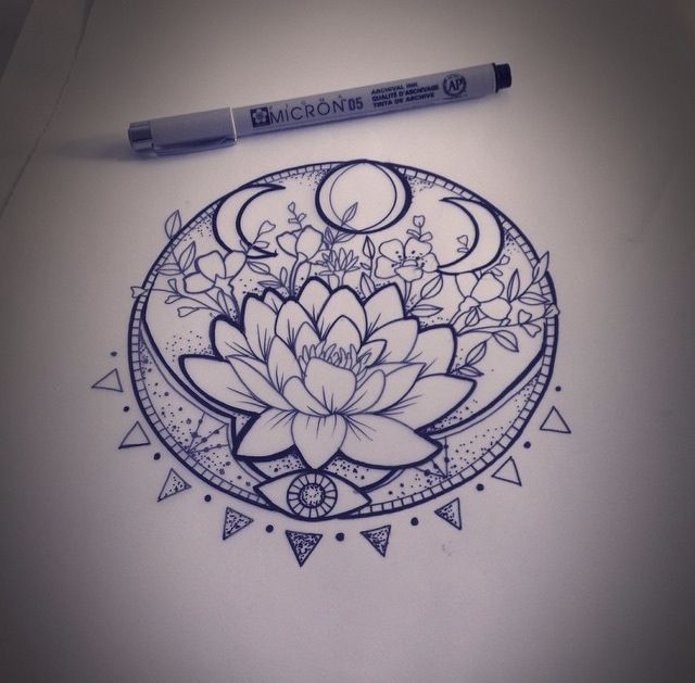 BEST LOTUS FLOWER TATTOO IDEAS TO EXPRESS YOURSELF