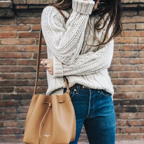 29 Bucket Bag Outfit Ideas That Every Girl Must Try