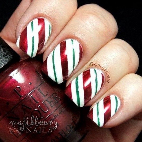 24 Christmas Nail art Design Dolors To Try
