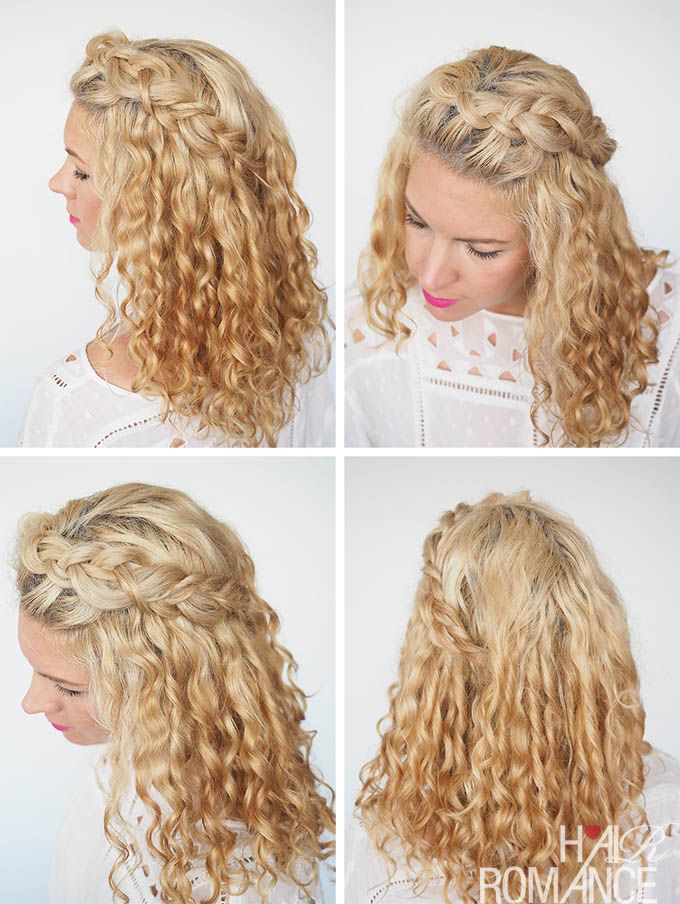 CURLY HAIRSTYLES - STYLES FOR SHORT, MEDIUM, AND LONG HAIR