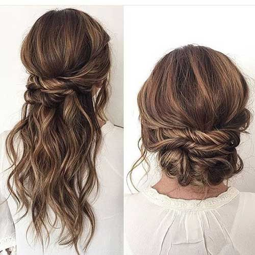 39 Drop Dead Gorgeous Updos For Long Hair Eazy Glam