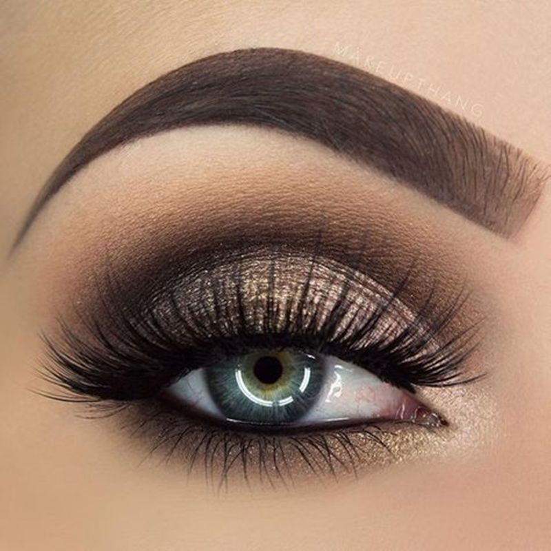 30+ Hottest Smokey Eye Makeup Ideas 2019