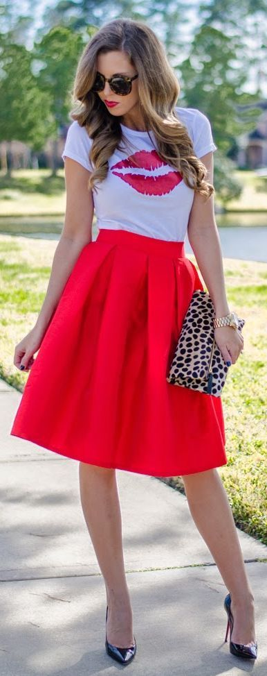 LOVELY IDEAS OF VALENTINES DAY OUTFITS