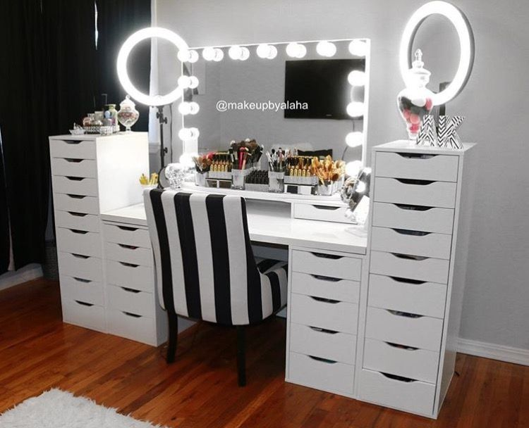 Makeup Vanity.35 Most Popular Makeup Vanity Table Designs Eazy Glam