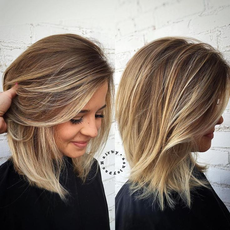 40+ Sexy Shoulder Length Haircuts for Summer