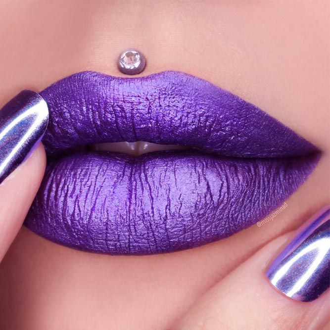 TRENDING PURPLE LIPSTICK SHADES FOR 2019
