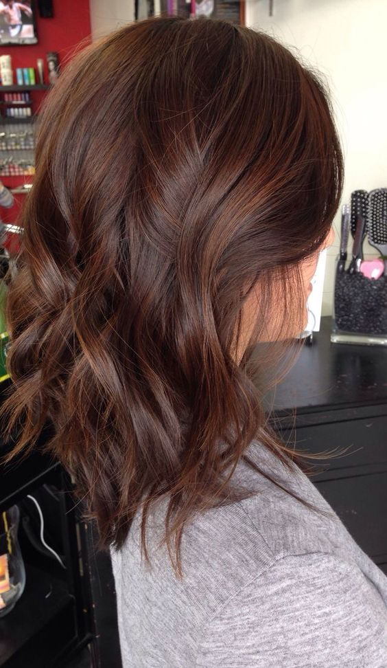 Chocolate Brown Hair Color Ideas for Brunettes