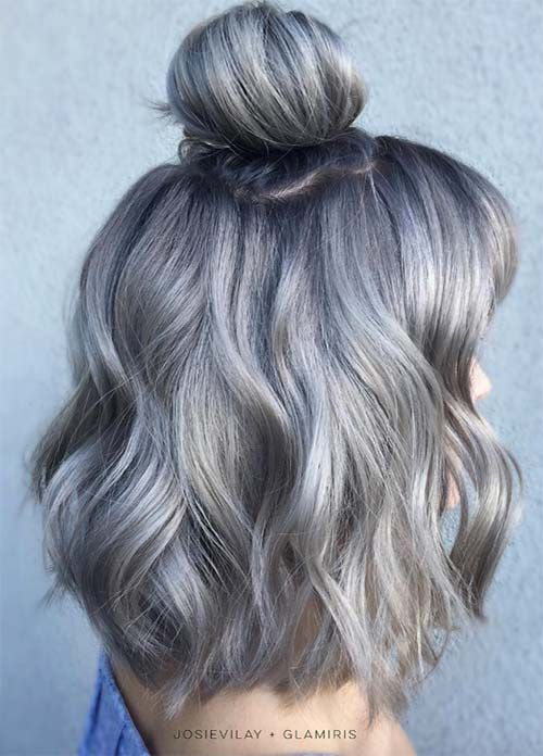 33 Gorgeous Gray Hair Styles You Will Love Eazy Glam