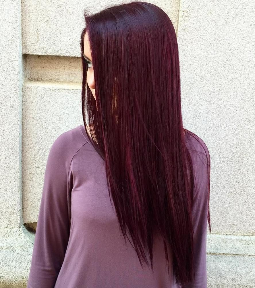 Shades of Burgundy Hair Color
