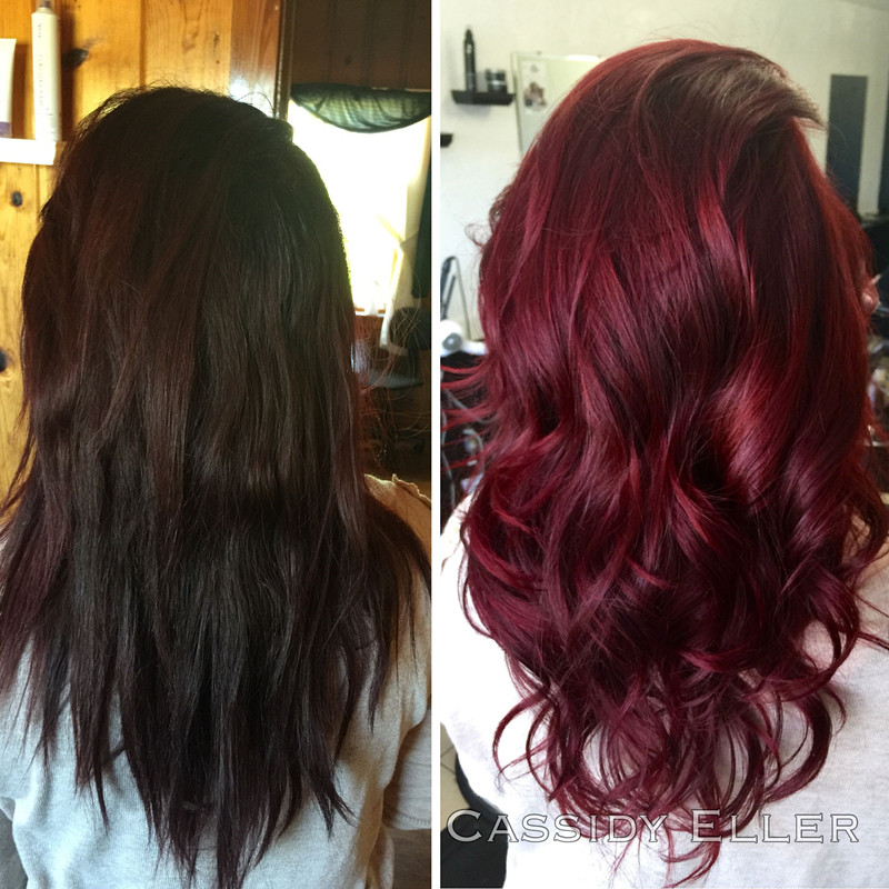 35 Shades of Burgundy Hair Color for 2019