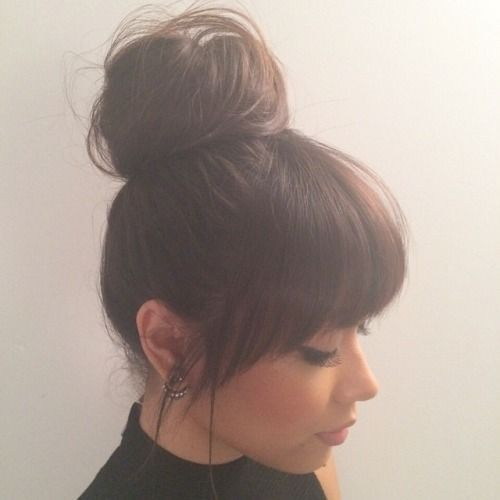 35 Beautiful Bangs Hairstyles Ideas For Your Face Shape