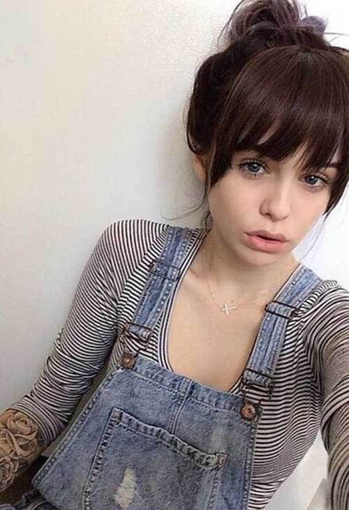 Beautiful Bangs Hairstyles Ideas For Your Face Shape