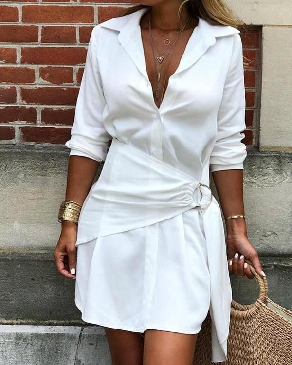 39 Simple Ways To Wear A Shirt Dresses