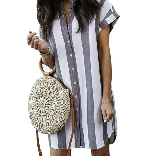 Simple Ways To Wear A Shirt Dress