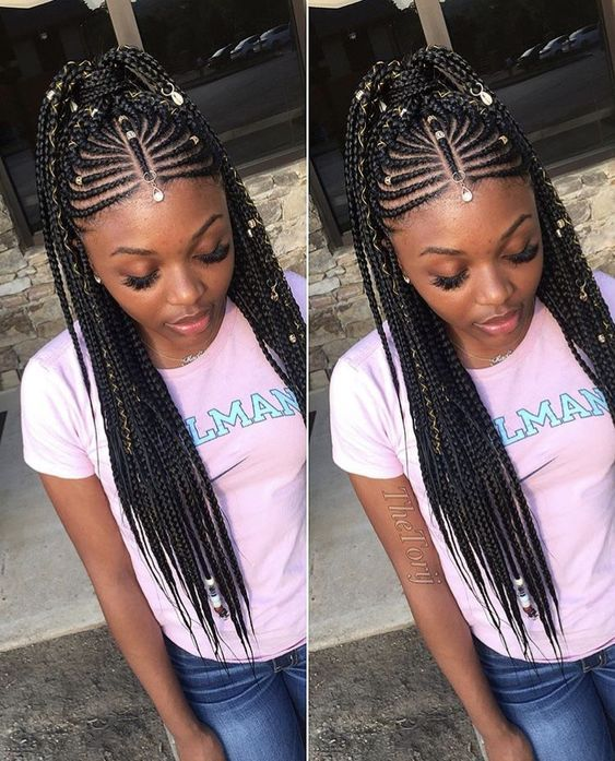 Best Black Braided Hairstyles To Stand Out