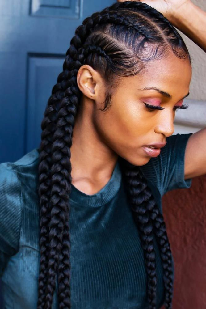 41 Best Black Braided Hairstyles To Stand Out Page 2