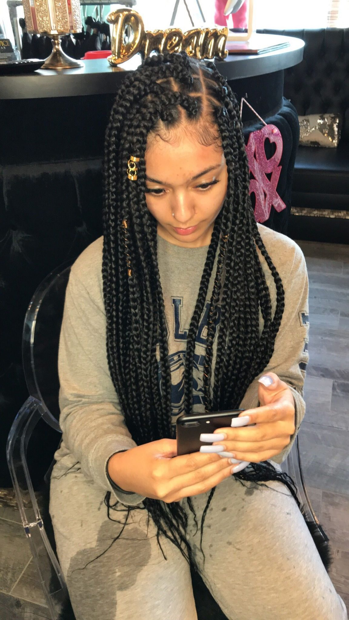 Box Braids Hairstyles To Do Yourself