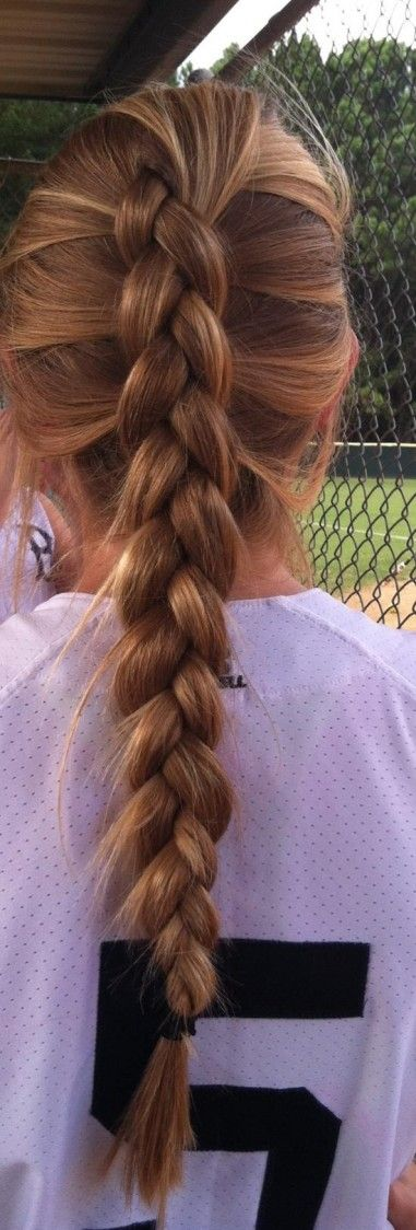 Hairstyles For Straight Hair To Sport