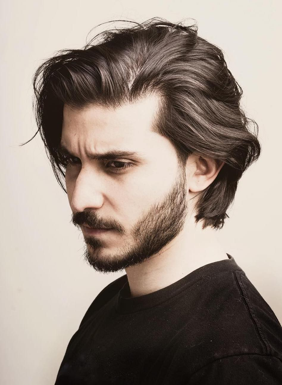 Stately Long Hairstyles For Men