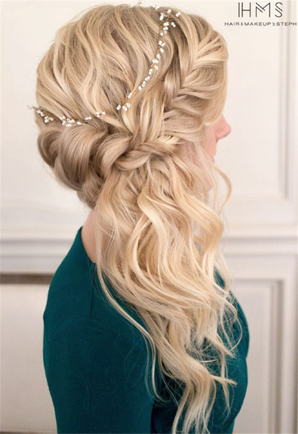 hairstyles prom sumptuous braided swept thin updo sideswept