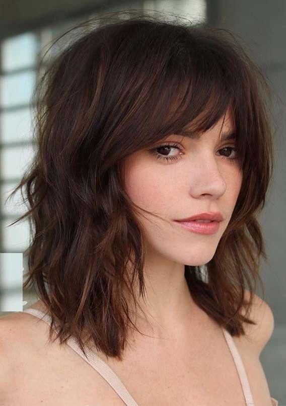 Haircuts For Long Hair With Bangs 2019 35